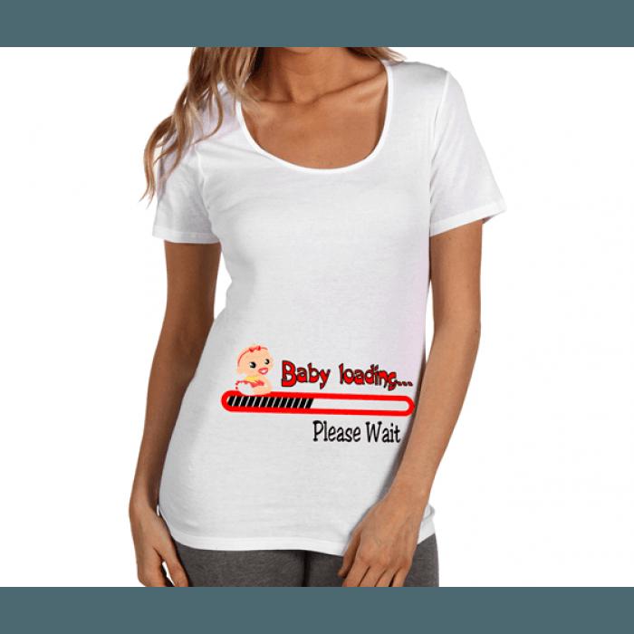 Забавни тениски за бременни със щампи